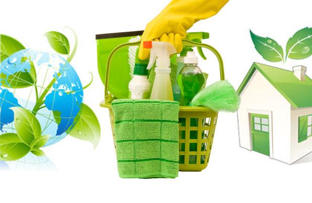 Uso de productos ecológicos en la limpieza
